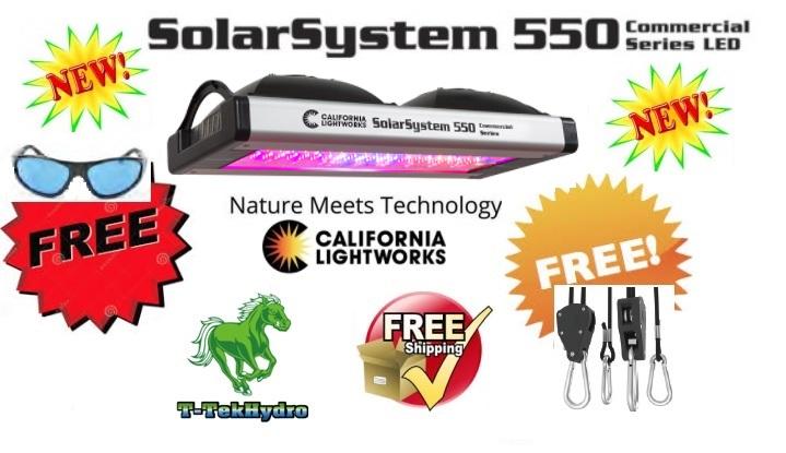 California Lightworks Solarsystem 550 Commercial Led Grow