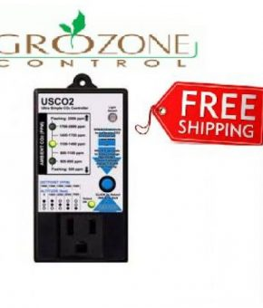 Grozone Control SINGLE ZONE ULTRA SIMPLE CO2 CONTROLLER - USCO2