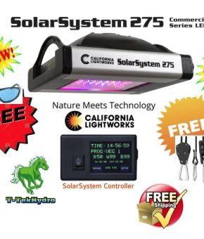 SolarSystem 275 Commercial LED Grow Lights with controller - FREE SHIPPING***