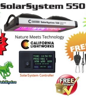 SolarSystem 550 Commercial LED Grow Lights with Controller - FREE SHIPPING***